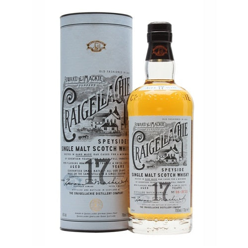Craigellachie 17 Year Old Scotch Whisky 750ml