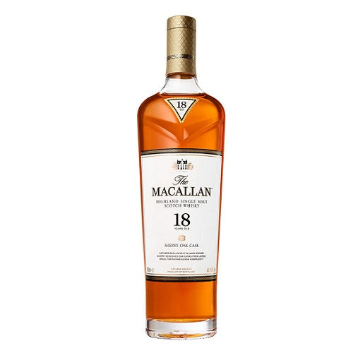 The Macallan Sherry Oak 18 Years Old 750ml