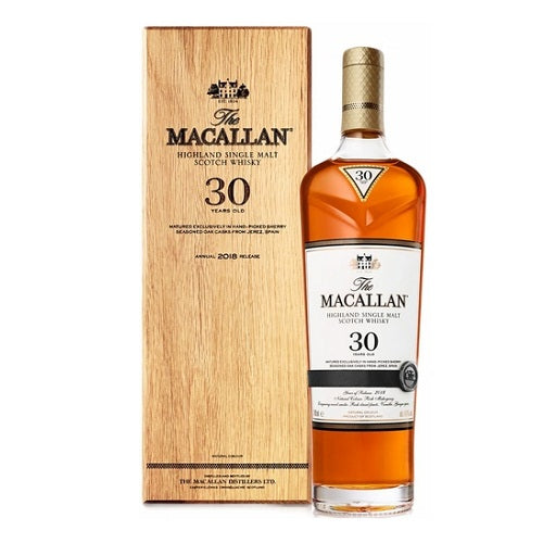The Macallan 30 Year Sherry Oak Scotch 750ml