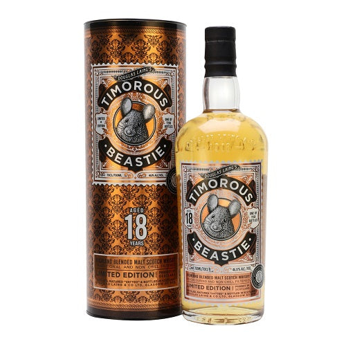 Timorous Beastie 18 Year Old Blended Malt Whisky 750ml