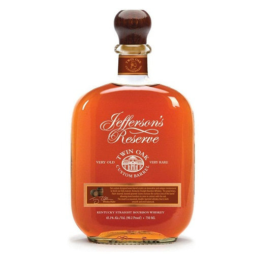 Jefferson's Reserve Twin Oak Custom Barrel Bourbon 750ml
