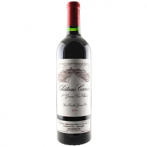 Chateau Canon Saint Emilion 750ML 2010