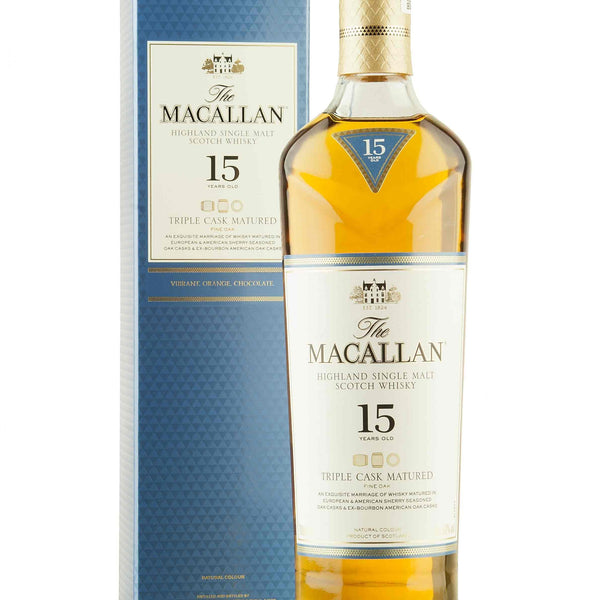 Macallan 15 Triple Cask 750ML For Home Delivery