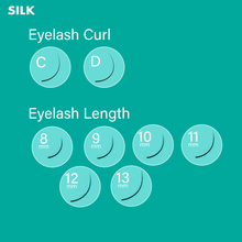 Load image into Gallery viewer, Silk Lash 0.03 Mix Tray (16 Lines)