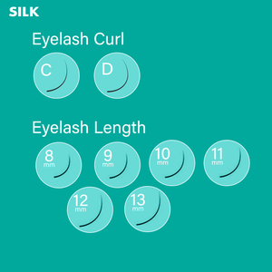 Silk Lash 0.03 Mix Tray (16 Lines)