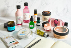 The body shop at home kit