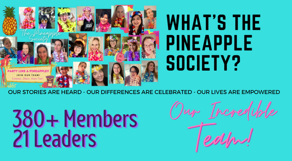 the pineapple society best team the body shop at home best sponsor