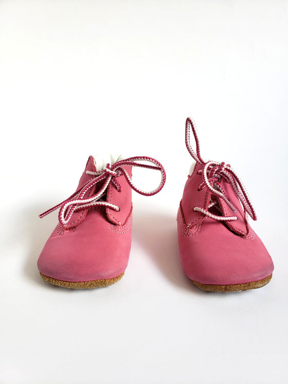 Timberland Pink Leather Booties | 2