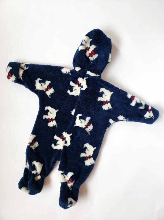Vintage Roots Fleece Snowsuit | 9-12M