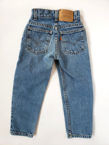 Vintage Little Levi's Orange Tab 550 Jeans | 4-5