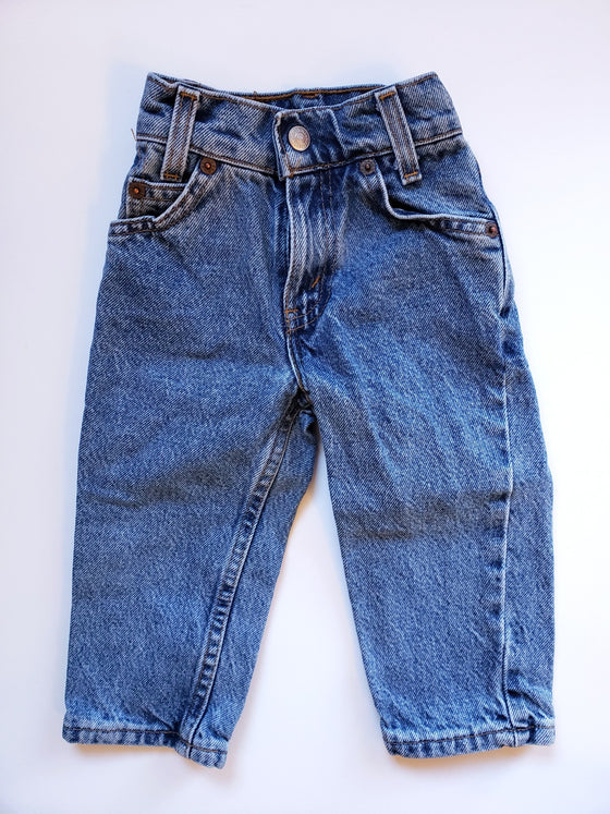 Vintage Levi's Red Tab 550 Jeans | 12M