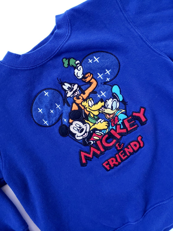 Vintage Disney Mickey and Friends Sweatshirt | 5-6