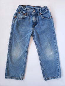 Vintage Levi's 569 Red Tab Light-Wash Jeans | 3-4T