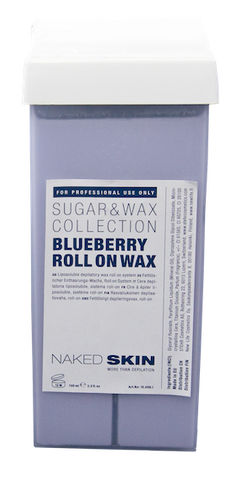 Naked Skin - Roll on Wachspatrone BLUEBERRY 100gr