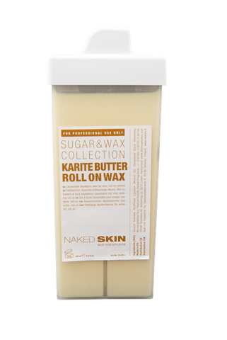 Naked Skin - Roll on Wachspatrone für Gesicht KARITE BUTTER 100gr