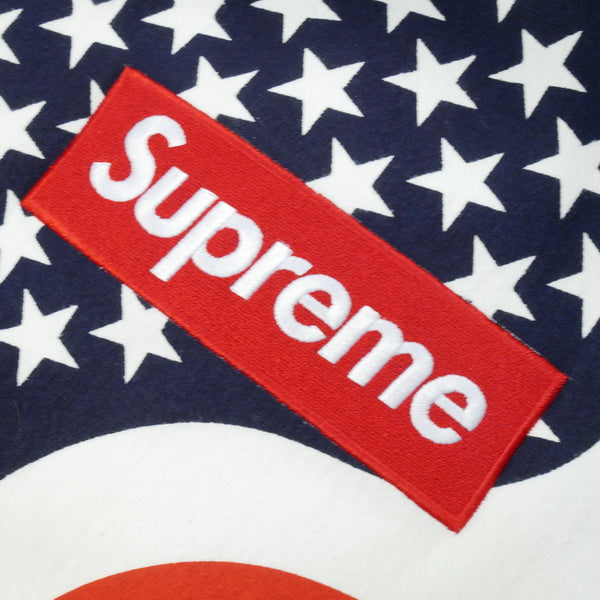 SUPREME シュプリーム 14AW Box Logo Pullover Flag BOXロゴパーカー 白赤 Size【S】 【新古品・未使用品】