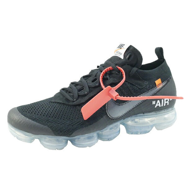 OFF WHITE オフホワイト ×NIKE THE 10 AIR VAPORMAX FK AA3831-002 スニーカー 黒 Size【27.5cm】 【新古品・未使用品】