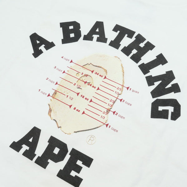 A BATHING APE ア ベイシング エイプ ×Pusha T 15SS BAPE STORE NYC 10th L/S TEE ロンT 白 Size【L】 【中古品-ほぼ新品】【中古】【SALE】