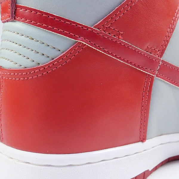 NIKE ナイキ DUNK HIGH LE SILVER/VARSITY RED 630335-061 1999年モデル スニーカー 赤 Size【28.5cm】 【新古品・未使用品】