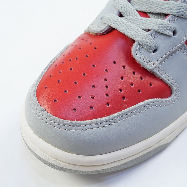 NIKE ナイキ DUNK LOW VARSITY RED/SILVER 630358-601 1999年モデル スニーカー 赤 Size【26.0cm】 【新古品・未使用品】