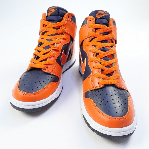 NIKE DUNK HIGH OBSIDIAN/COLLEGE ORANGE 630335-481 2002年モデル スニーカー オレンジ Size【27.0cm】 【新古品・未使用品】【SALE】