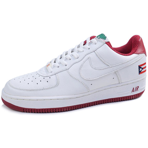 "NIKE ナイキ AIR FORCE 1 LOW ""PUERTO RICO 2"" 630033-917 2003年モデル スニーカー 白赤 Size【29.0cm】 【新古品・未使用品】"