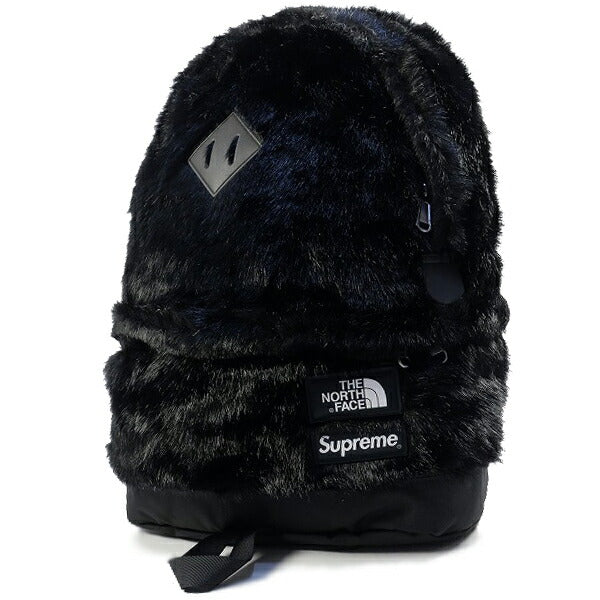SUPREME シュプリーム ×THE NORTH FACE ザノースフェイス 20AW Faux Fur Backpack バックパック 黒 Size【フリー】 【新古品・未使用品】