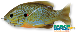 551 Natural / Blue Pumpkinseed