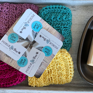 Crocheted Soap Sacks