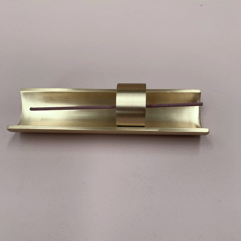 Brass Incense Holder + Tray
