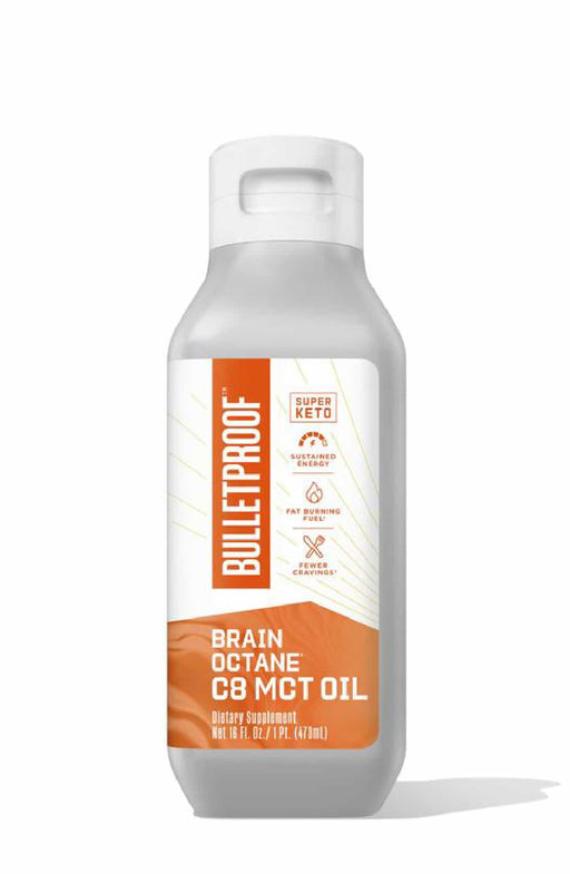 Bulletproof Brain Octane C8 MCT Oil 475 mL
