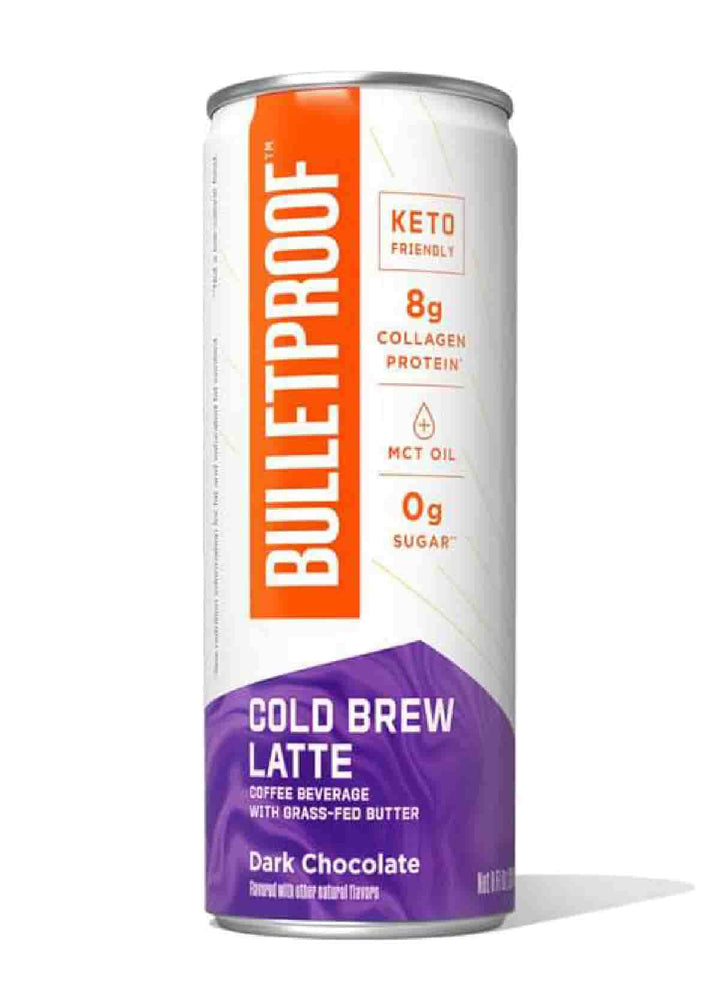 Bulletproof Cold Brew Latte Dark Chocolate