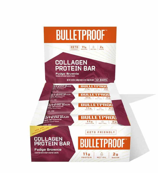 Bulletproof Protein Bars Fudge Brownie 1