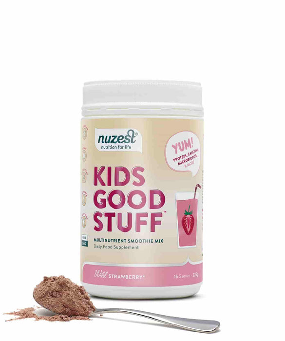 NuZest Kids Good Stuff Wild Strawberry 225 g
