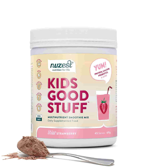 NuZest Kids Good Stuff Wild Strawberry 675 g