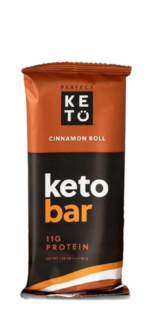 Perfect Keto Bars Cinnamon Roll