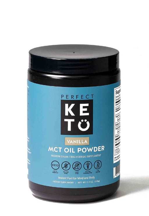 Perfect Keto MCT Oil Powder Vanilla