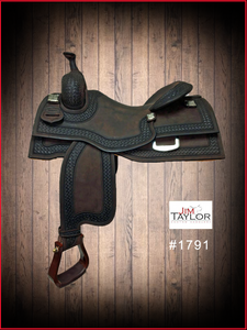 #1791 COWHORSE-RANCH VERSATILITY SADDLE
