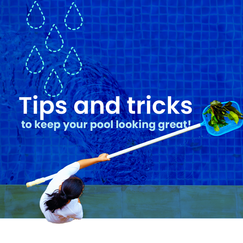 Tips and tricks to keep your pool looking great from LinerWorld!