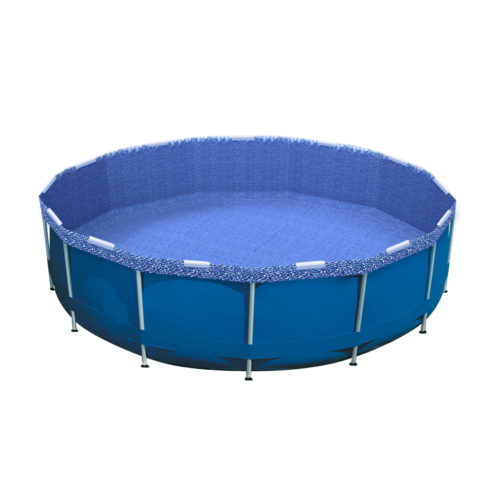 Glimmerglass Pool Re-lining Kit Installed in an Intex Pool