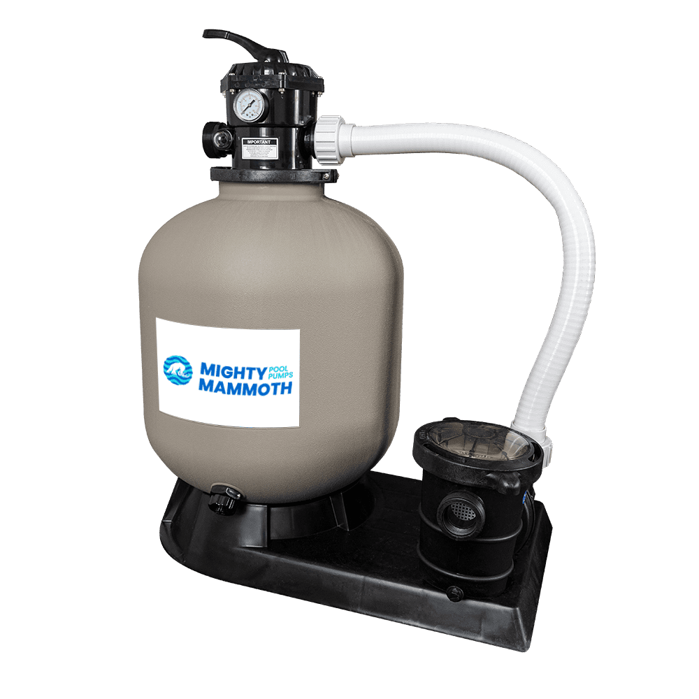 Sand Filter Tank and Above Ground Pump System