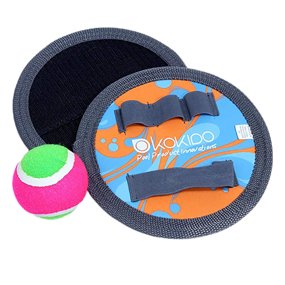 Two Neoprene Catching Pads and One Fabric Ball