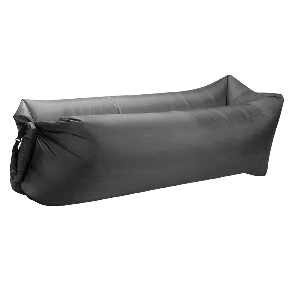 The Easy Couch Pool Float in Charcoal Gray
