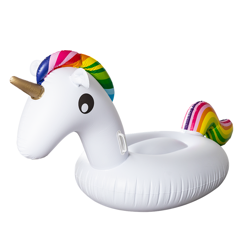 Oversize, Ride-On Unicorn Water Float