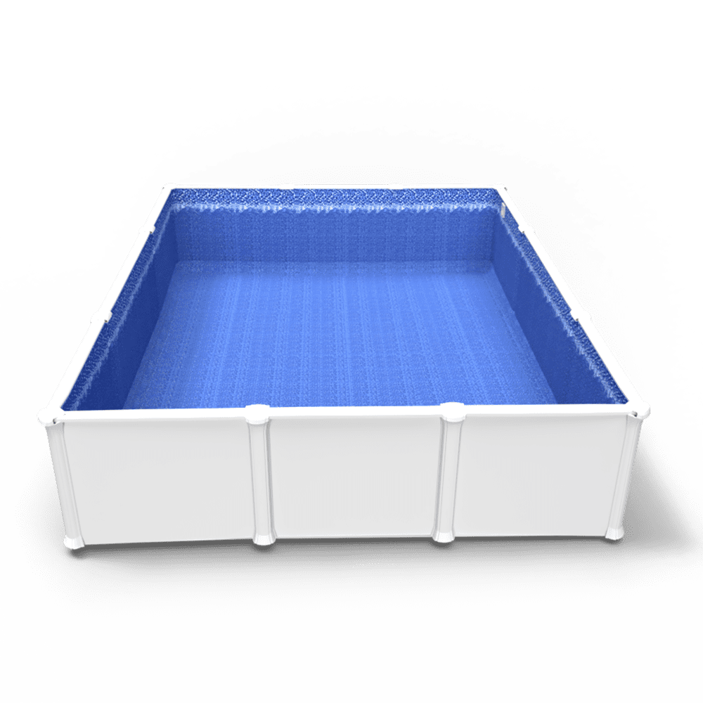 Glimmerglass Beaded Pool Liner in a Rectangle Above Ground Pool