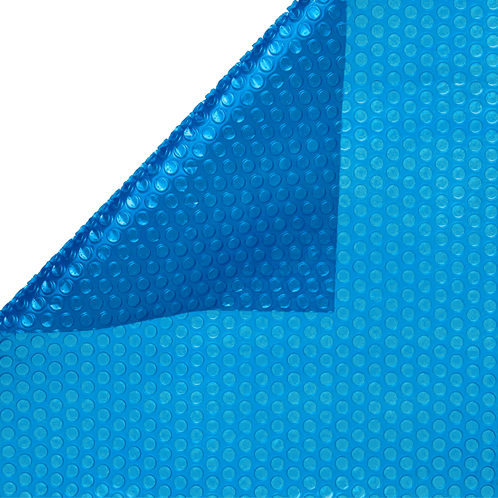 Blue 8mm Oval Swimming Pool Solar Cover