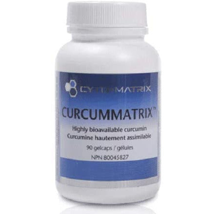 Cytomatrix Curcummatrix Highly Bioavailable 90 gel caps