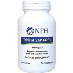 Nutritional Fundamentals for Health Trident SAP 66:33 60 gels by Nutritional Fundamentals for Health