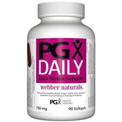 Webber Naturals PGX Daily Ultra Matrix Softgel, 750mg