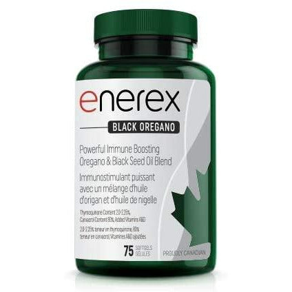Enerex Black Oregano 75 Caps 75 count